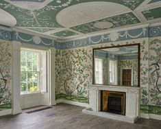 Sir John Soane's Pitzhanger Manor is re-opening after a three-year, million restoration with an Anish Kapoor exhibition. Francesca Carrington goes to visit the country house in Ealing. Eltham Palace, Barcelona Pavilion, Lisson Gallery, Chinese Wallpaper, Anish Kapoor, Bank Of England, Colored Ceiling, Roof Light, West London