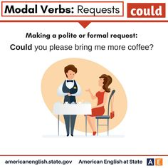 Modal Verbs: Requests - Could