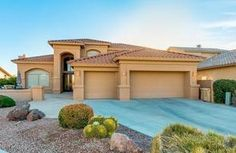 Chandler Arizona Adult Community Homes For Sale  $589,000, 3 Beds, 2 Baths, 3,209 Sqr Feet  Breathtaking lake resort view in Sun Lakes! This astonishing Lexia model features 3 bedroom, 3 bathroom, 3 car garage with built-in cabinets, elegant light fixtures throughout, a fireplace, a den perfect for an office, and formal dining room and living area with built-in entertainment niche(TV incluA complete and FREE UP-TO-DATE list of Phoenix homes for sale in Adult Communities!  http://mi..