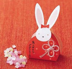 Konpeito, 30 boxes in Rabbit box, Party, Welcome Gift, Wedding, Japanese Candy #Unkwon