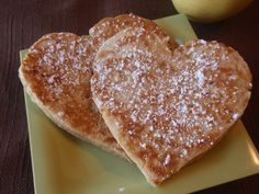Apple pancakes from super healthy kids