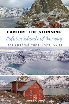 Explore the beauty of the Lofoten Islands in Norway. This essential travel guide includes how to get to the Lofoten Islands, where to stay in the Lofoten Islands, Lofoten Islands hiking, Lofoten Islands beaches, and more! Europe Destinations, Europe Travel Tips, European Travel, Travel Guide, Travel Abroad, Backpacking Europe, Winter Hiking, Winter Travel, Oslo
