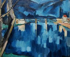 The Bridge at Chatou. Maurice de Vlaminck