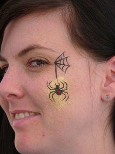 Die 9 Besten Bilder Von Spinne Schminken Spinne Schminken