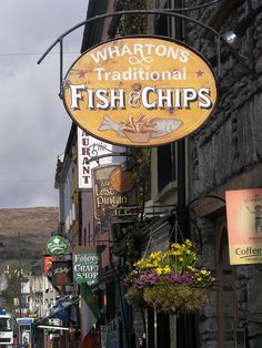 Traditional Fish & Chips Shop - Kenmare, Co Kerry, Ireland