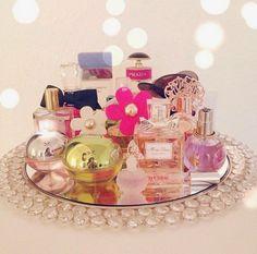 Bandeja espelhada - Bandeja de perfumes- bandeja decorativa
