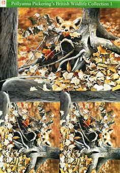 Pollyanna Pickering British Wildlife Collection 1 - traditional decoupage #5 - fox