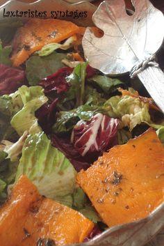 Food for thought: Σαλάτα πράσινη με κολοκύθα και γλυκόξινο dressing