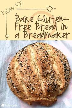 Baking Gluten Free Bread in a Breadmaker - gfJules