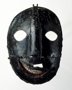 The Executioner's Mask (iron mask), European, 17th-18th...