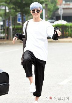 Bangtan Boys ❤ Namjoon (rapmon) | Surprisingly, this is one of the normal photos of Rap Mon