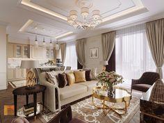 Фото интерьер кухни-гостиной из проекта «Дизайн четырехкомнатной квартиры в стиле Ар-деко, ЖК Привилегия, 172 кв.м.»