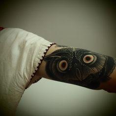 Owl (under bicep)