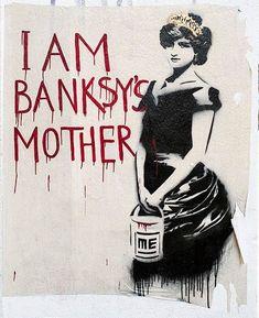Banksy's art ? Pinned from: pin.it/…- Banksy's art ? Pinned from: pin.it/… Banksy's art ? Pinned from: pin.it/… - Banksy's art ? Graffiti Art, Street Art Banksy, Stencil Graffiti, Amazing Street Art, Best Street Art, Pop Art, Urban Street Art, Urban Art, Land Art