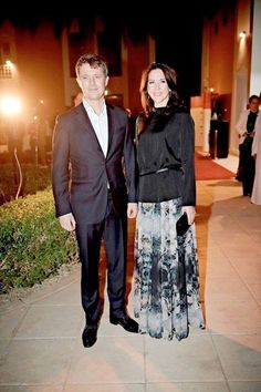 2016--3 days in Saudi arabia - Crown Prince Frederik and Crown Princess Mary of Denmark on their official visit in Saudi Arabia last day