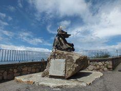 La statua di Cilla, la leggenda da...mare!