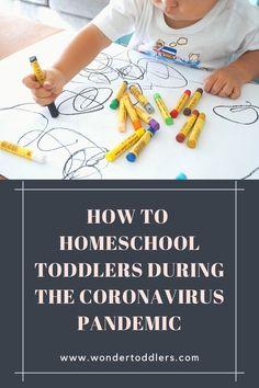 How to Homeschool Toddlers During the Coronavirus Pandemic   Wonder Toddlers
