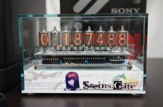 For those of you who liked Stein's Gate I give you the official divergence meter ... OMG!