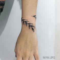 Tatuagem de ramos Orange Things is orange chicken chinese Vine Tattoos, Leaf Tattoos, Body Art Tattoos, Small Tattoos, Sleeve Tattoos, Cool Tattoos, Wrap Around Tattoo, Wrap Tattoo, Future Tattoos