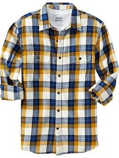 78aa73cae3e M s Long-Sleeved Lightweight Fjord Flannel Shirt