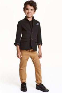 Твиловые брюки Regular fit | H&M