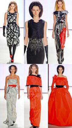 Can someone please wear the bottom left one on the RC? - Carolina Herrera F12