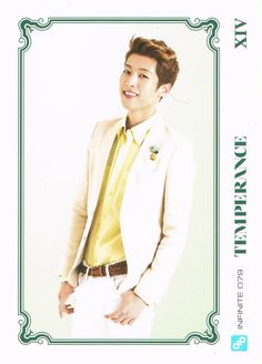 INFINITE – Official Collection Card Vol. 1 Scans | Infinite CHING-GYU