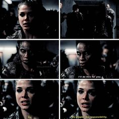 "#The100 4x12 ""The Chosen"" - Octavia and Indra"