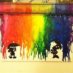 Mickey Mouse Disney crayon art