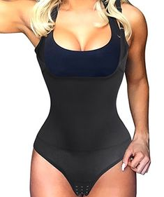 298816df89f86 Gotoly Waist Trainer Body Shaper Open Bust Shapewear Tummy Slimmer Bodysuit  for women