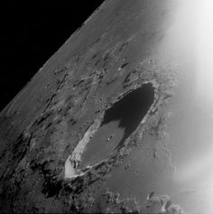 Marius Crater on Earth's Moon