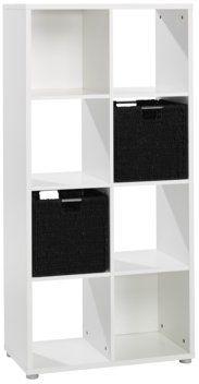 Roomdivider SANDVED 8 vakken wit | JYSK