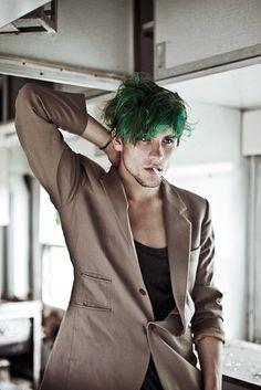 #greenhair