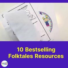 FABLES AND FOLKTALES/ FAIRY TALES ACTIVITIES BUNDLE Story Retell & Sequencing