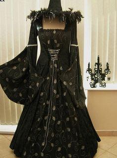 Sorcière de Halloween Costume robe de bal