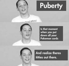 I Always Thought Pokemon Wasn't The Breast<-- hahahaha i laughed from a good place
