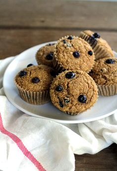 ... Muffins - Berry on Pinterest | Vegan blueberry muffins, Blueberries