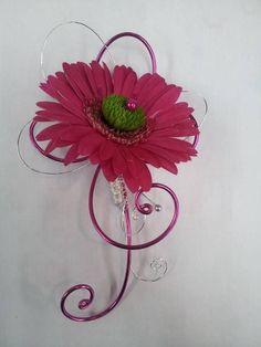 Pink gerbera. Unknown designer.