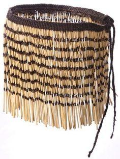 Maori Piupiu Traditional Maori Piupiu (skirt) handmade in New Zealand Handmade using the old traditional methods in Rotorua (New Zealand) using New Zealand Flax (Harakeke), these beautiful, authentic Piupiu are stunning! Each Piupiu take American Indian Costume, Indian Costumes, American Indians, Peter And The Starcatcher, Cloak, Weaving, Hair Accessories, Tapestry, Stage