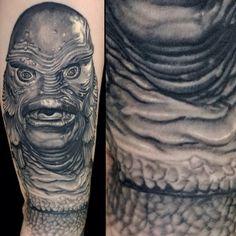 Creature From the Black Lagoon Tattoo by Nikko Hurtado