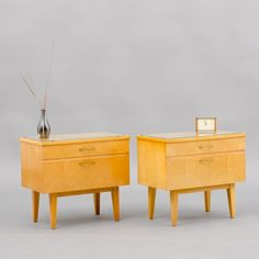 Located using retrostart.com > Night stand Cabinet by Unknown Designer for Unknown Manufacturer