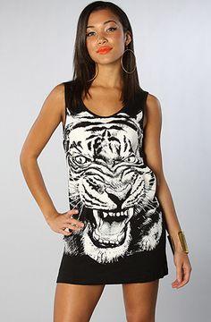 Somedays Lovin The Tiger Print Tank Dress : Karmaloop.com - Global Concrete Culture