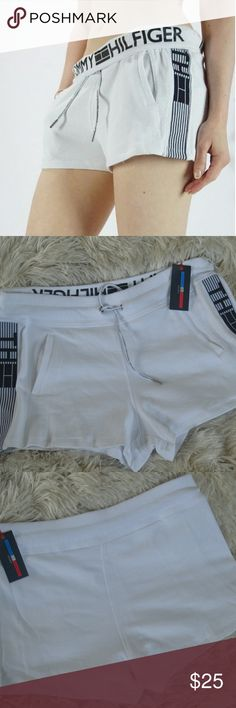 Tommy Hilfiger Workout Shorts | White Brand New with tags Tommy Hilfiger Shorts