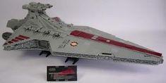 LEGO MOC MOC-0694 UCS Venator Star Destroyer - building instructions and parts list.