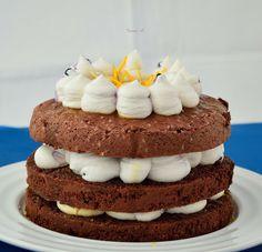 Sweet & Spice: tort de ciocolata cu crema de branza Sweet Spice, Vanilla Cake, Cheesecake, Spices, Sweets, Cakes, Desserts, Food, Tailgate Desserts