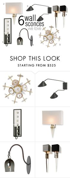Modern wall sconces. Chic modern decor and lighting for the home.