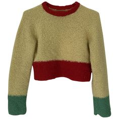 Buy your wool jumper Eckhaus Latta on Vestiaire Collective, the luxury consignment store online. Second-hand Wool jumper Eckhaus Latta Multicolour in Wool available. Jumper, Men Sweater, Eckhaus Latta, Jeans Slim, Mellow Yellow, Pulls, Luxury Consignment, Color Inspiration, Cool Stuff