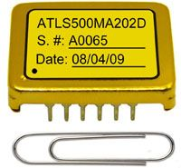 ATLS500MA202D is an electronic module designed for driving diode lasers with up to 500MA constant current, high efficiency, low noise, high reliability, zero EMI, and small package.