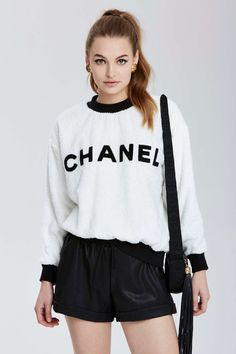 Vintage Chanel Dax Sweatshirt   Shop Vintage Goldmine No. 1 - Chanel at  Nasty Gal f4f54379ba1c