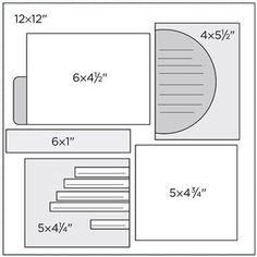 Scrapbook Page Sketch 434
